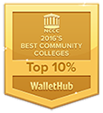 2016 best Community College, Top 10%